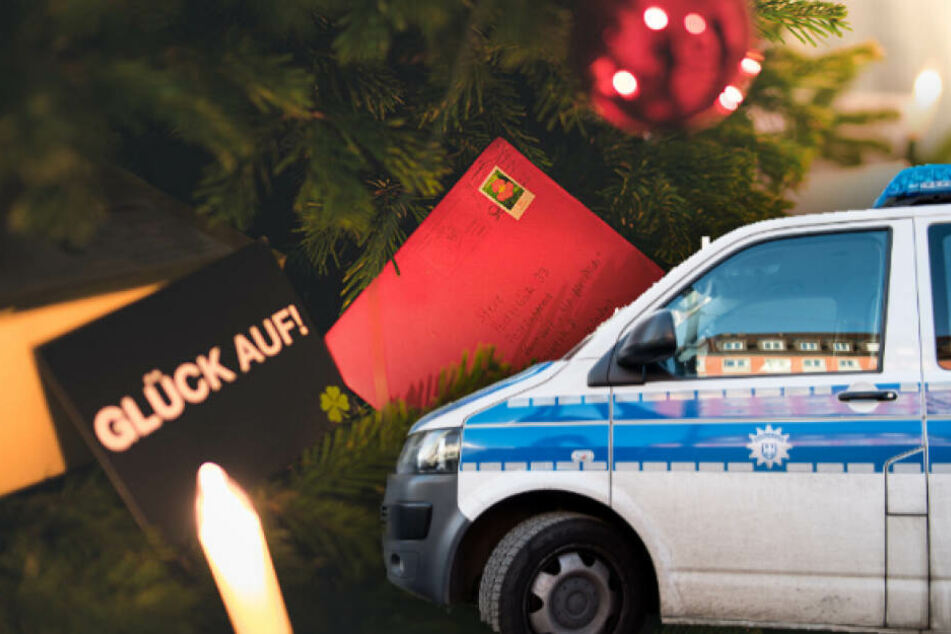 Viele Genesungswünsche haben die Polizei in München erreicht. (Bildmontage)