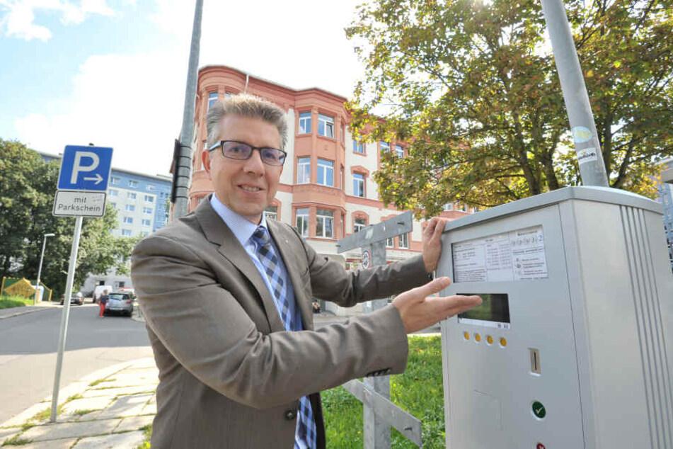 CDU-Stadtrat Ralph Burghart (48) werden bei der Dezernentenwahl am Mittwoch im Stadtrat die größten Chancen eingeräumt.