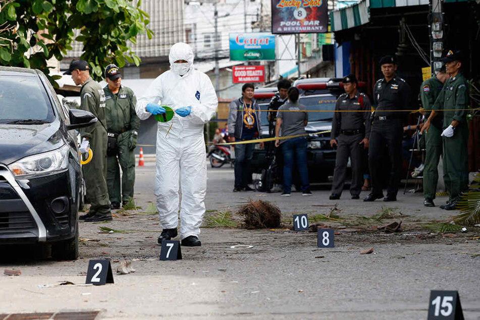 Mehrere Bombenexplosionen haben Thailand erschüttert.