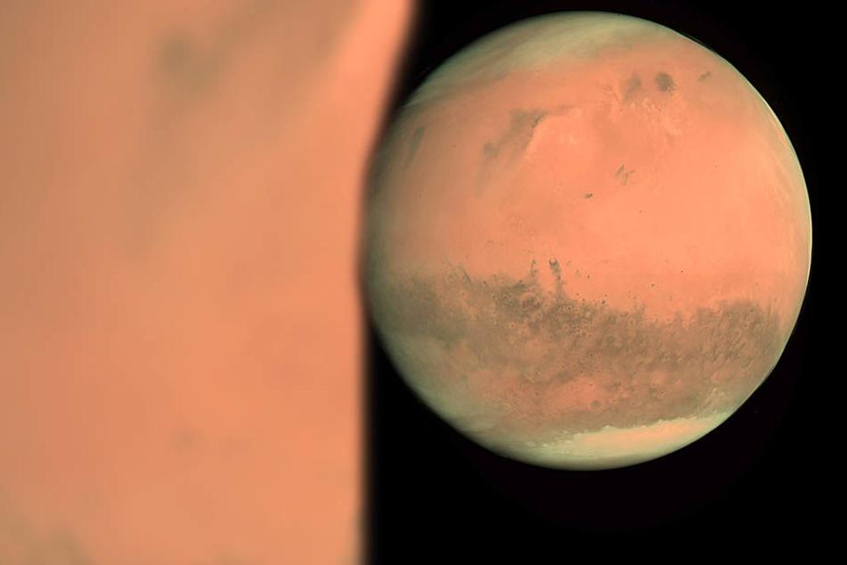 Solch faszinierende Aufnahmen, stellte eine Weltraumagentur vom Mars her.