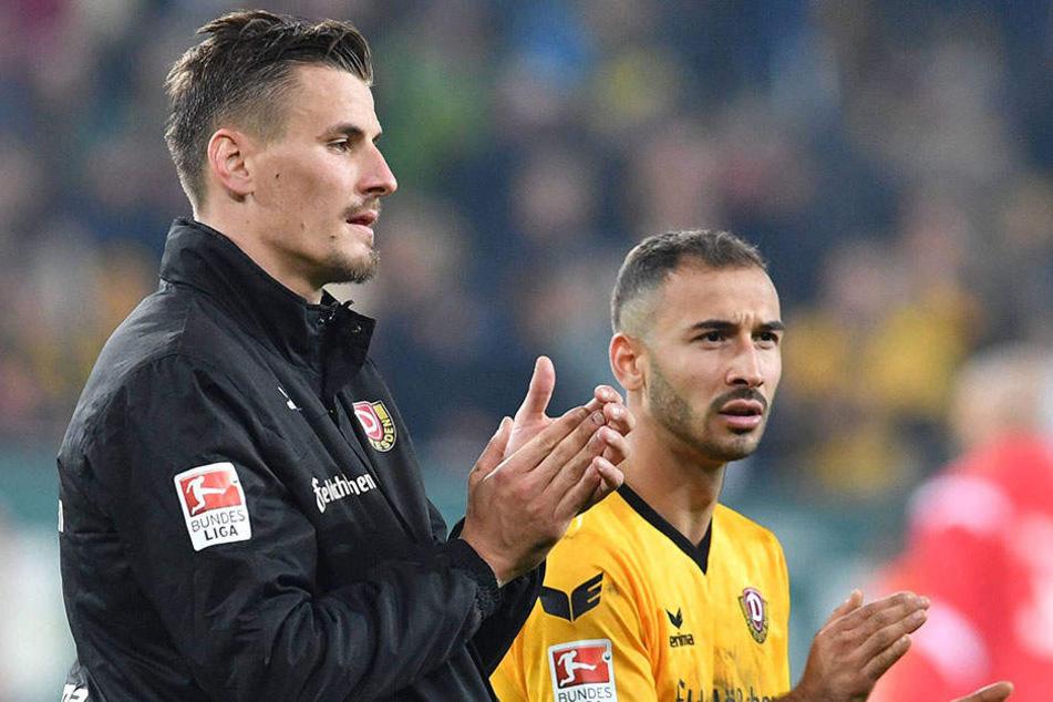 Stefan Kutschke und Akaki Gogia sind nur bis Saisonende ausgeliehen.