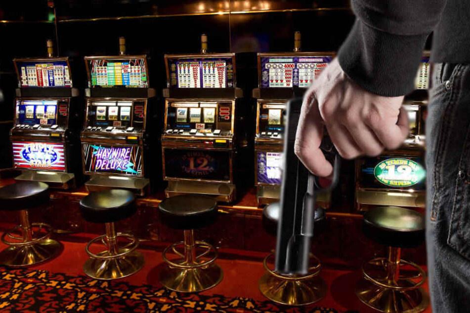 Der Räuber plünderte die Kasse und den Tresor des Casinos (Symbolbild).