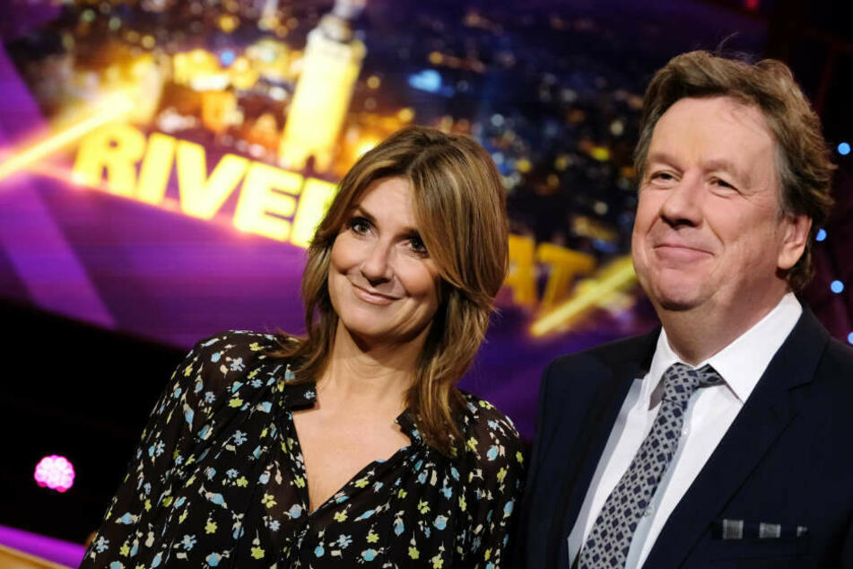 """Das """"Riverboat""""-Moderatoren-Duo Kim Fisher (50) und Jörg Kachelmann (61) ist in der Kategorie """"Entertainment"""" für eine """"Goldene Henne"""" nominiert."""