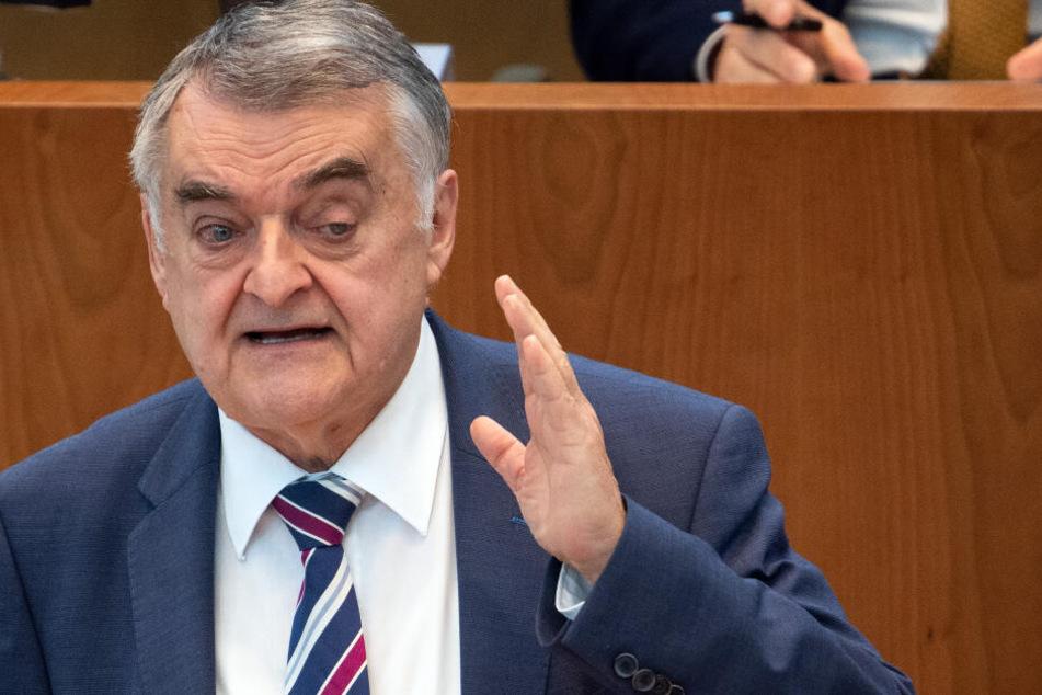 Innenminister Reul im Landtag.
