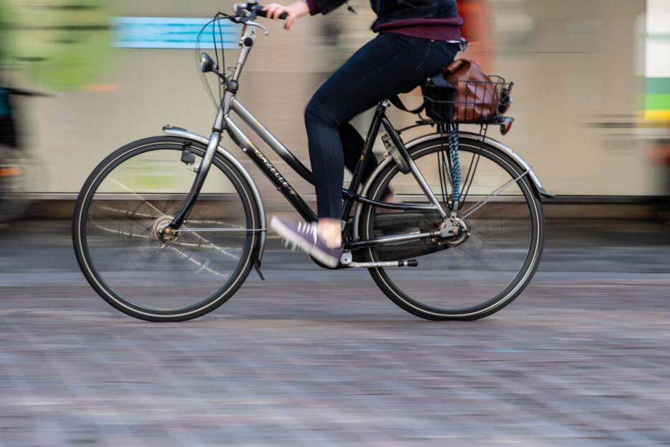 Eine gespannte Leine wurde einer Radfahrerin in Nürnberg zum Verhängnis. (Symbolbild)