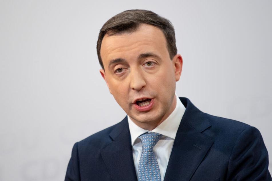 Paul Ziemiak hatte sich wenig begeistert von dem Kompromiss der CDU mit der Linken, den Grünen und der SPD gezeigt.
