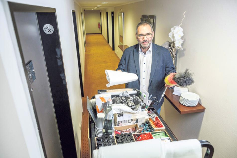 Dresden: Hotelgäste müssen ihr Zimmer selbst putzen