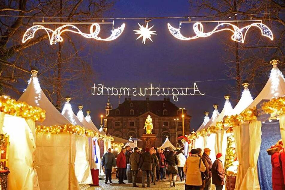 Läuft alles nach Plan, könnte der Augustusmarkt schon in dieser Adventszeit länger öffnen.