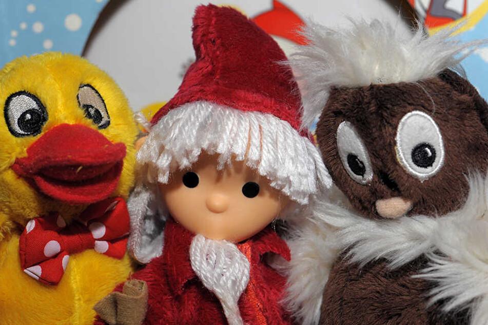 Ach du meine Nase! Pittiplatsch besucht den Leipziger Weihnachtsmarkt