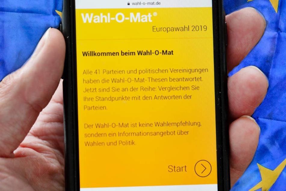 Verrückt: So oft wurde der Wahl-O-Mat bei der Europawahl genutzt