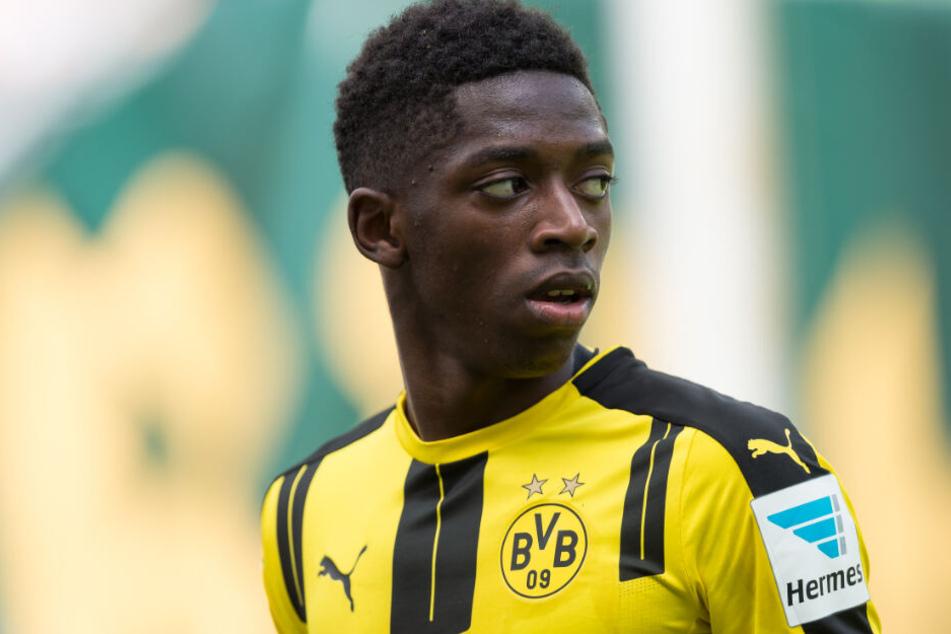 Kehrte dem BVB für eine Rekordablöse nach nur einem Jahr wieder den Rücken: Ousmane Dembele.