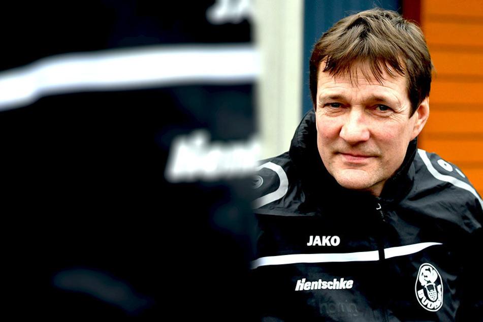 Torsten Gütschow trainiert inzwischen Vierligist Budissa Bautzen. Als Spieler trug der Stürmer mehrere Jahre auch das Trikot der Schwarz-Gelben.