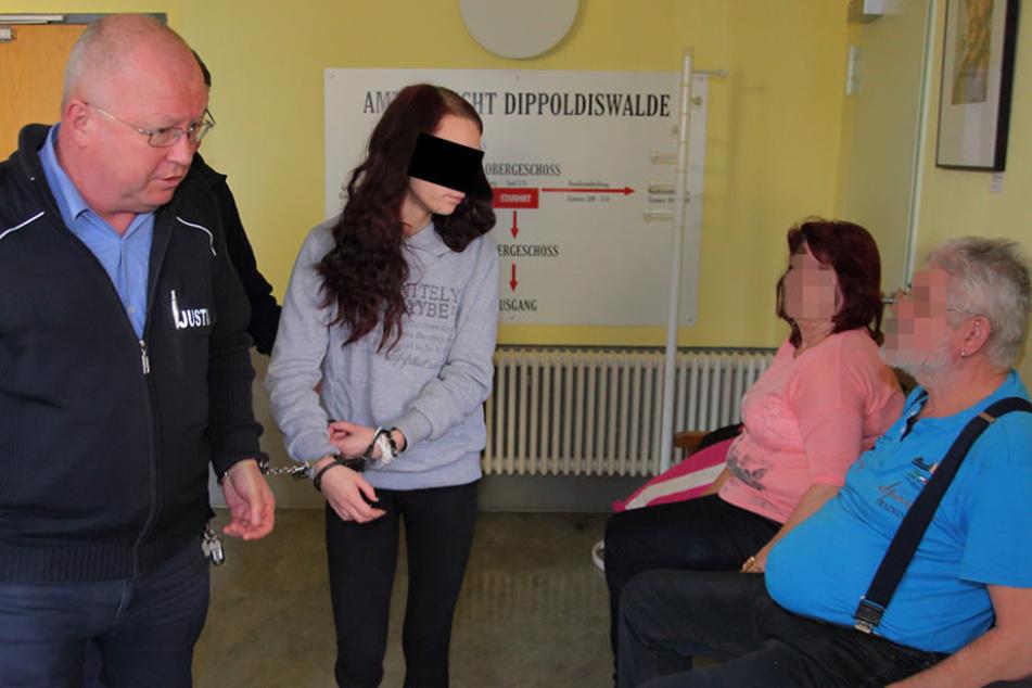 Nicolae Guta verprgelt schwangere Freundin im Live-TV