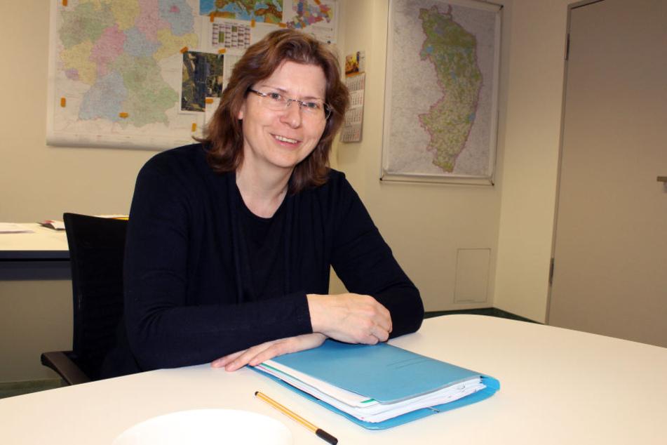 Wirtschaftsförderin Heike Zettwitz.