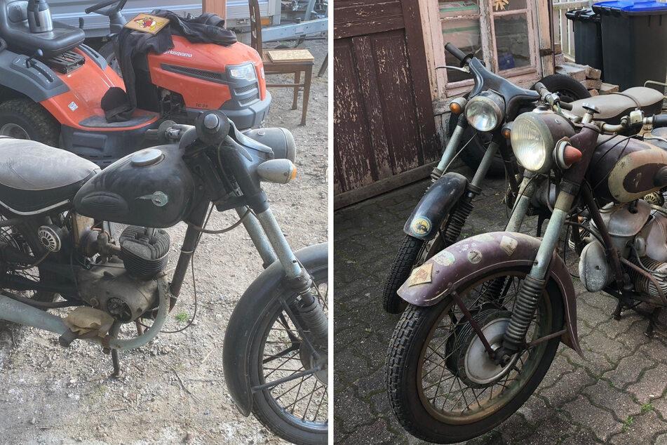 Diebe plündern Kfz-Werkstatt und lassen Oldtimer-Motorräder mitgehen