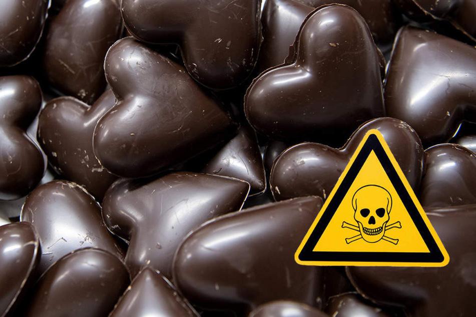Die ausgelegten Süßigkeiten können gesundheitliche Beschwerden auslösen. (Symbolbild)