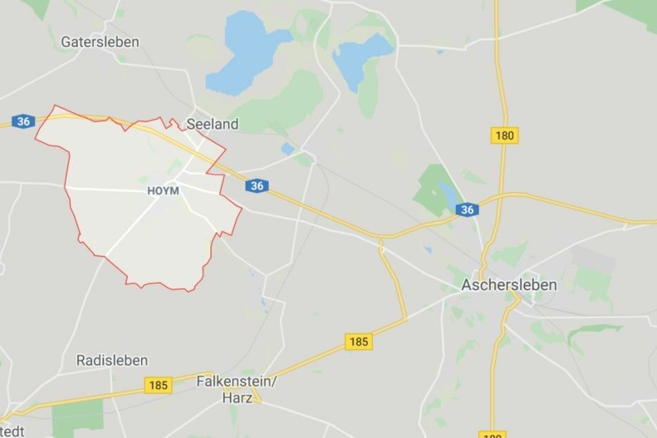 Die Gemeinde Hoym liegt westlich von Aschersleben.