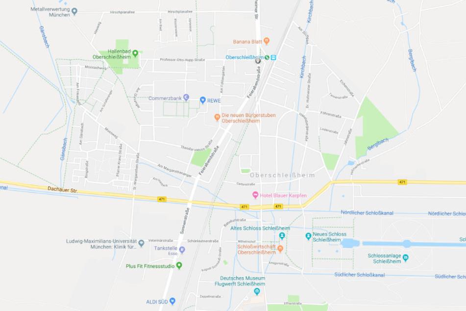 Fußgänger von Auto erfasst: In Oberschleißheim ist es zu einem schweren Verkehrsunfall gekommen.