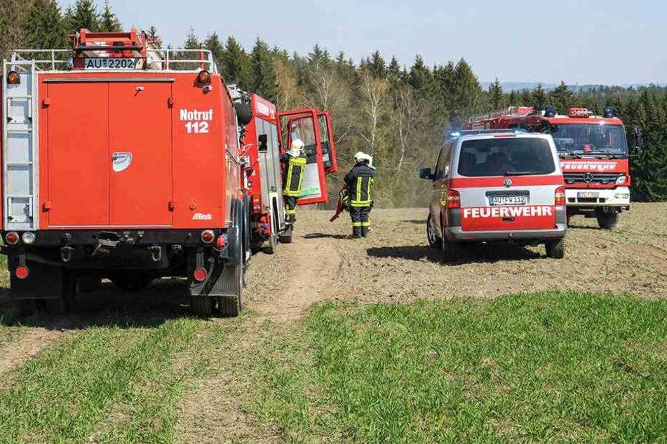 Zahlreiche Feuerwehren mussten in Stützengrün anrücken.