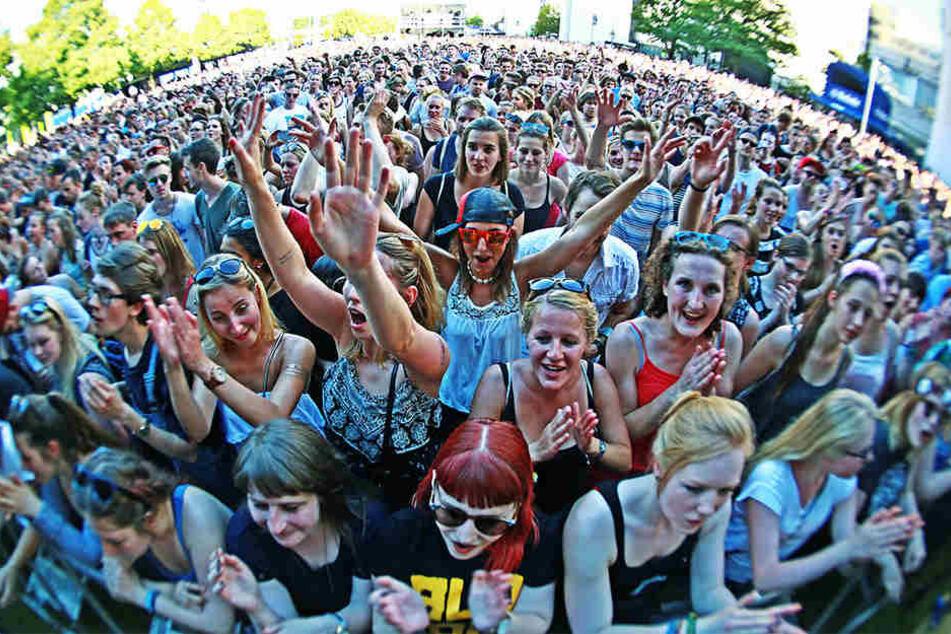 Knapp 18.000 Besucher müssen beim dritten Campus Festival auf Taschen verzichten.