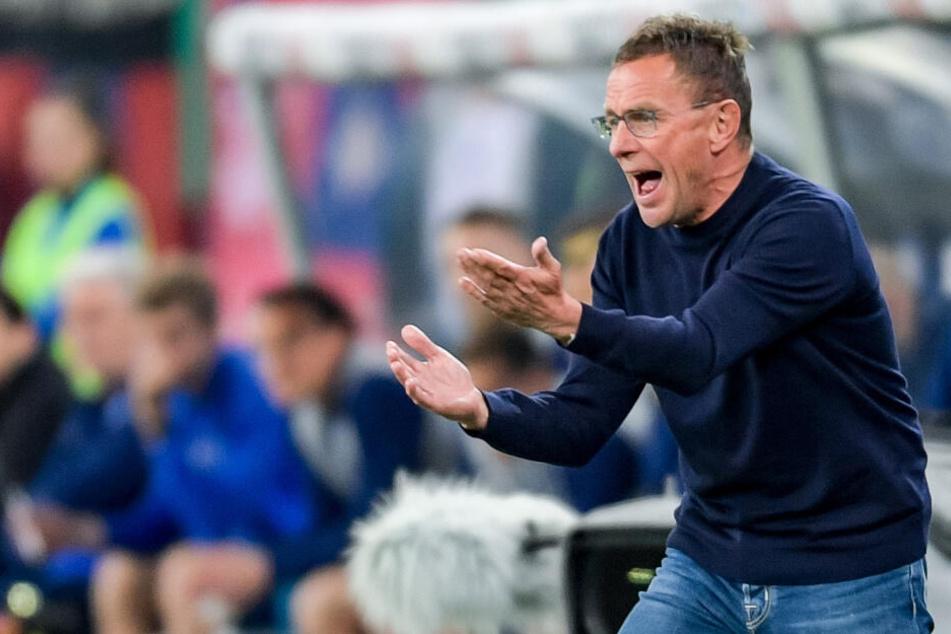 RB-Coach Ralf Rangnick möchte jedoch noch mehr aus der Meisterschaft herausholen. Auch die letzten drei Spiele der Saison will er noch gewinnen.