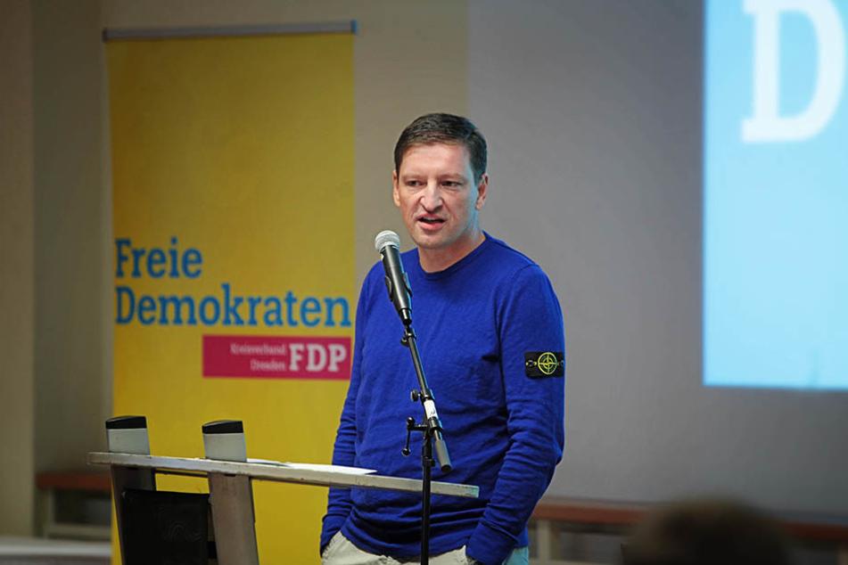 Jens Genschmar (48, FDP) würde sich über eine Erweiterung freuen.