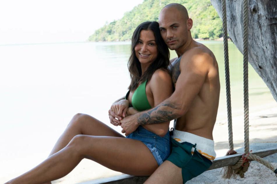 """Wird die Beziehung von Ziania und Fabian """"Temptation Island"""" überstehen?"""