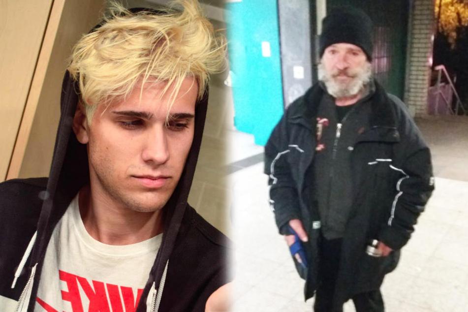 Norman (links) hat via Twitter seinen verschollenen Vater gesucht und gefunden.