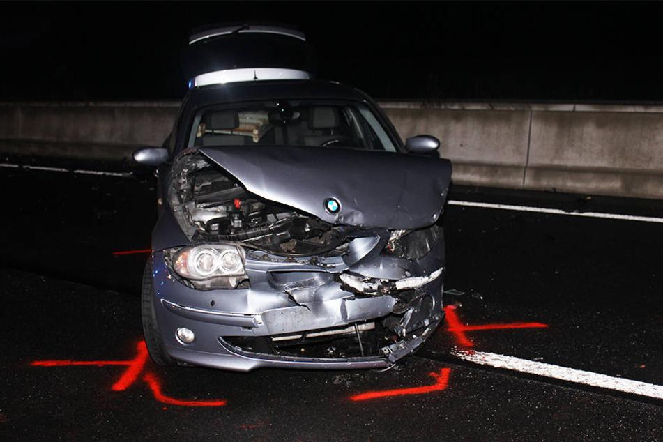 Der BMW stieß frontal mit dem Auto der 41-Jährigen zusammen.