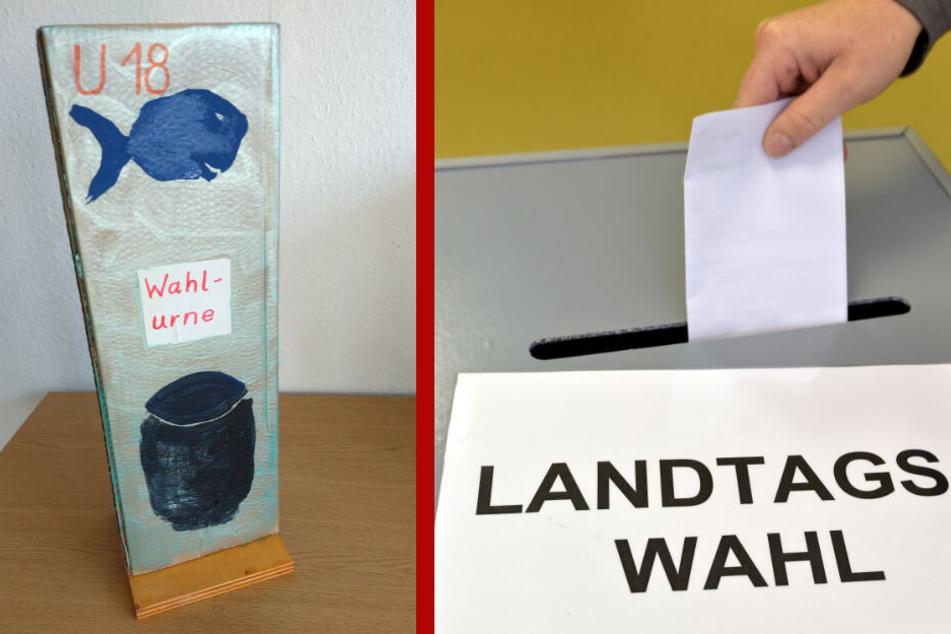 U18-Landtagswahl: Zahlreiche Sachsen aller Nationalitäten gingen zur Wahlurne