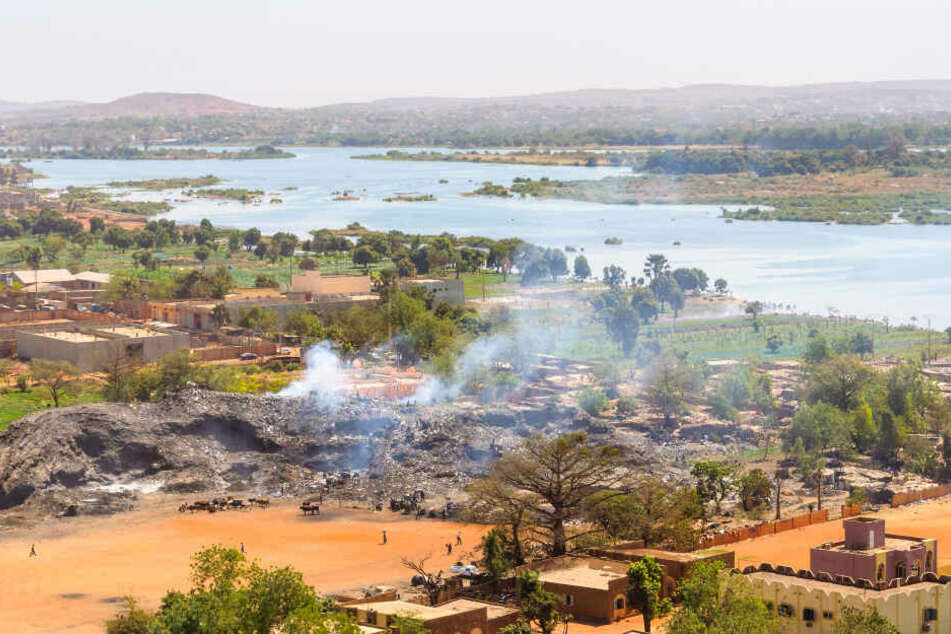Ansicht der Hauptstadt Malis und dem Fluss Niger. (Symbolbild)