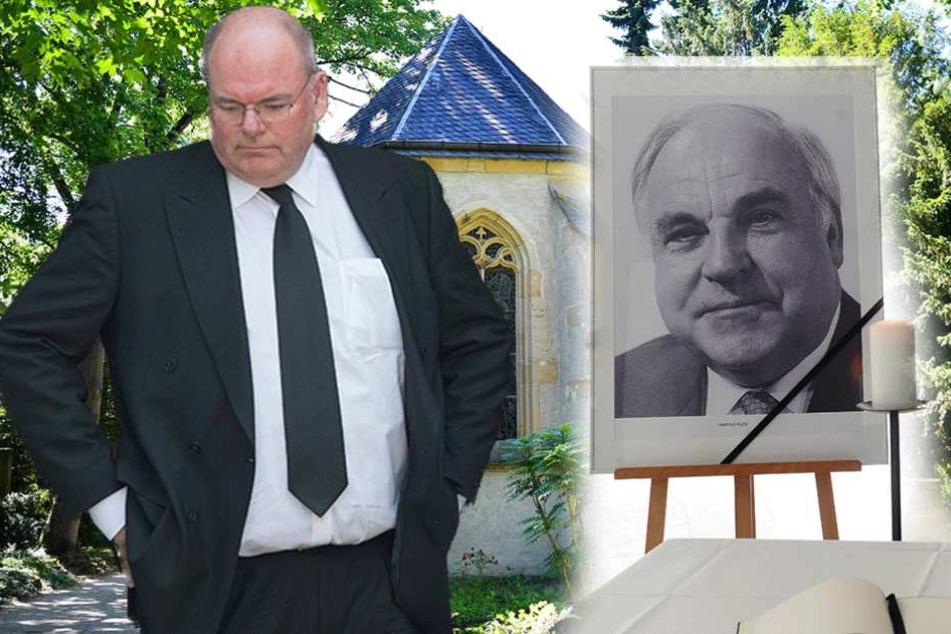 Kohls Sohn will nicht zur Beerdigung seines Vaters gehen