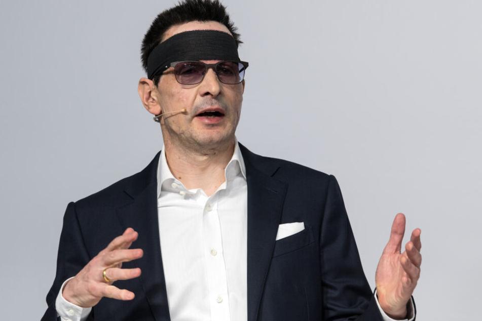 Im März 2018 wurde Bernhard Günther (52) beim Joggen von Unbekannten mit Säure übergossen.