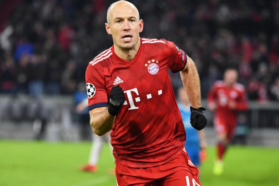 Spielt Arjen Robben überhaupt nochmals für den FC Bayern München? Es sieht nicht danach aus.