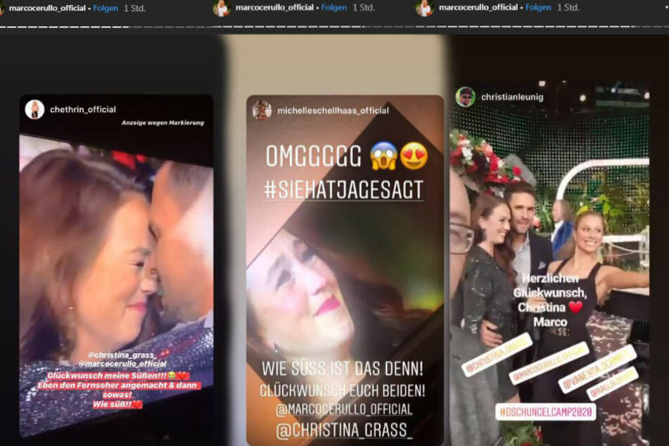 Auf seinem Instagram-Profil teilte der 31-Jährige fleißig und ließ seine Follower an seiner Freude teilhaben.