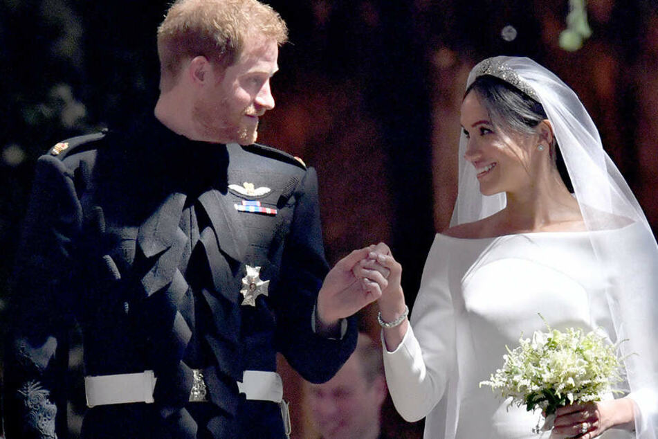 Prinz Harry of Wales hat Meghan Markle am 19. Mai geheiratet.