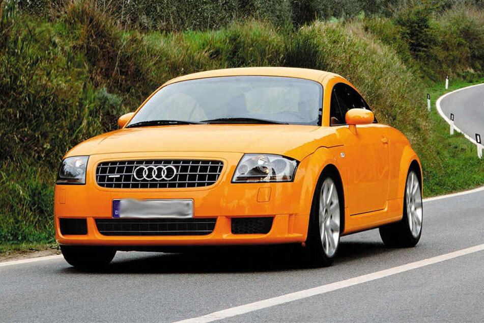 Unter den kontrollierten Autos war auch ein Audi Quattro. Er fiel durch einen sehr erhöhten Schallpegel auf.