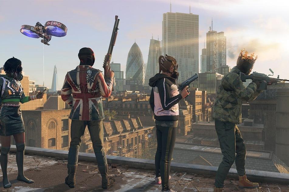 """In """"Watch Dogs: Legion"""" sollt Ihr ein futuristisches London vor der Diktatur bewahren."""