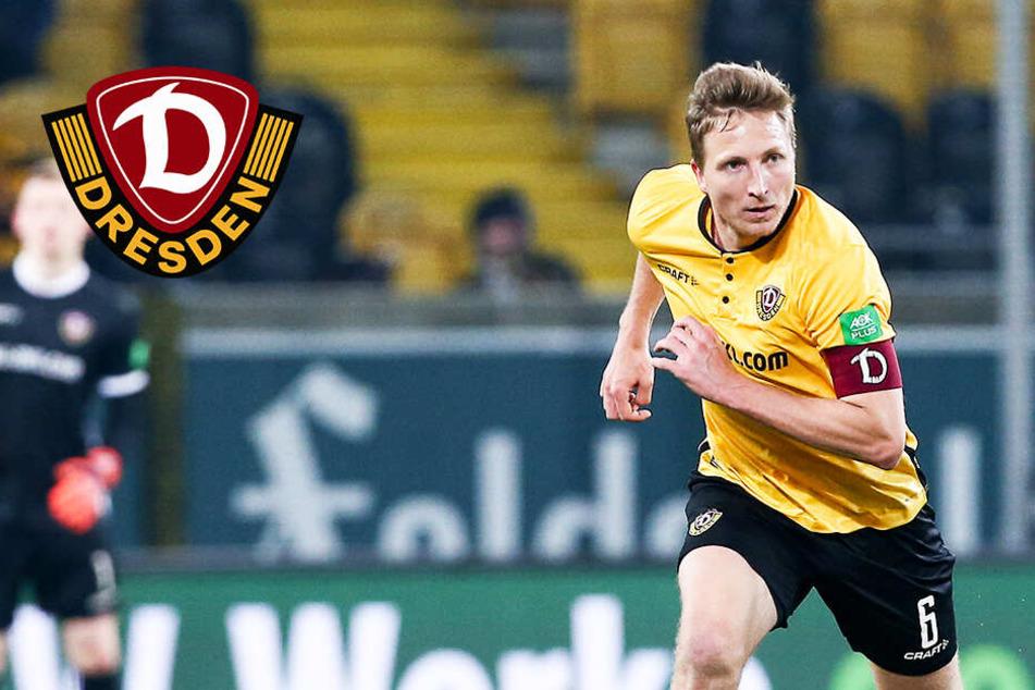 """Dynamos Kapitän Hartmann zu seinen Verletzungen: """"Es nervt mich""""!"""