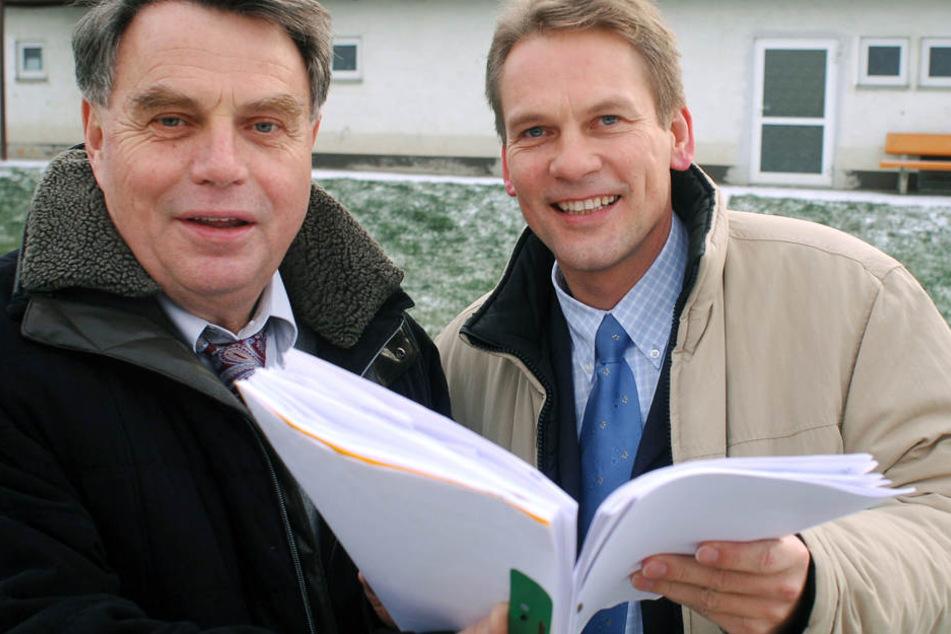 Gegen Harald Buschmann (re.) sind zwei anonyme Anzeigen bei der Staatsanwaltschaft eingegangen.