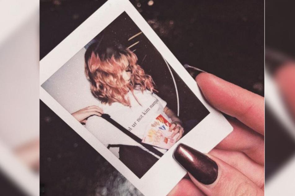 Eine Polaroid der verschwundenen Rebecca Reusch, gepostet vor zehn Wochen auf ihrem eigenen Instagram Account.