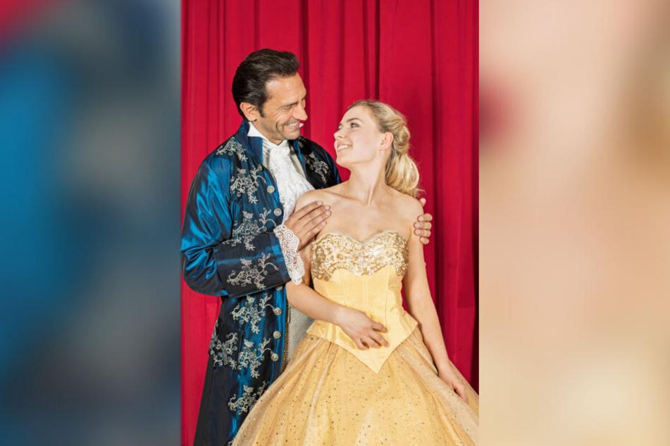 Marie Wegener (18) und Alexander di Capri (45) sind die Schöne und das Biest.