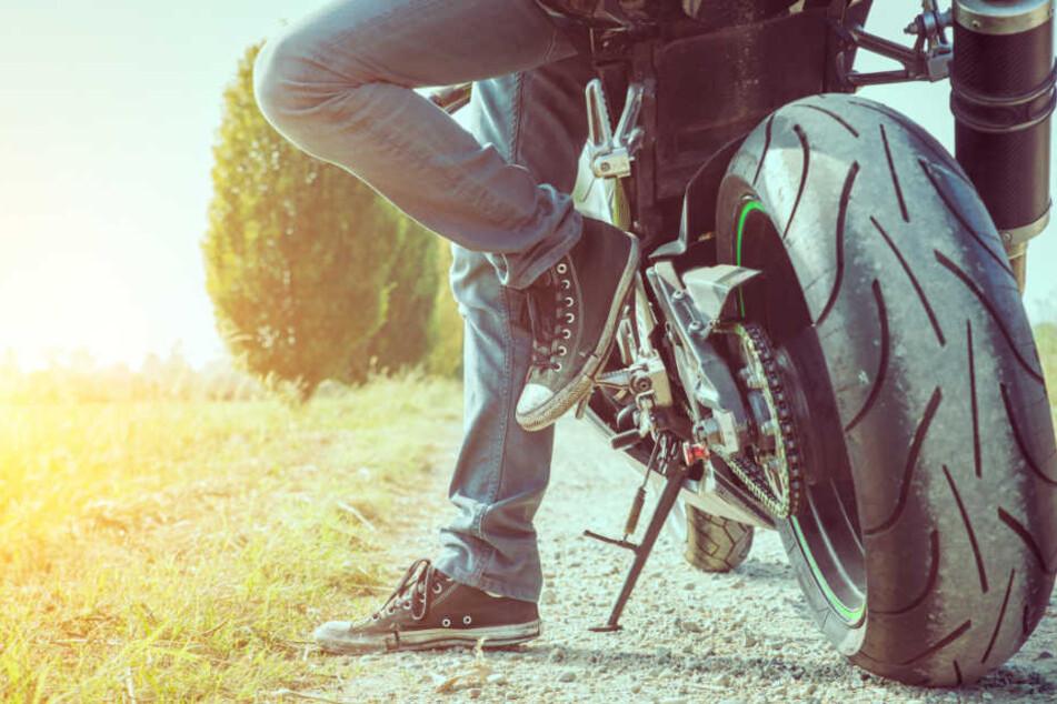 Gegen den jungen Motorradfahrer wurde ein Ermittlungsverfahren eingeleitet. (Symbolbild)