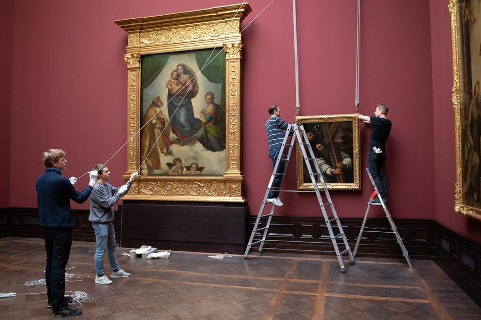 Unter anderem den Werken in der Gemäldegalerie Alte Meister könnt Ihr digital so nah kommen wie sonst nicht.