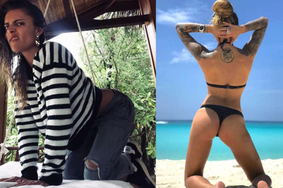 Frauen nackt vor der kamera