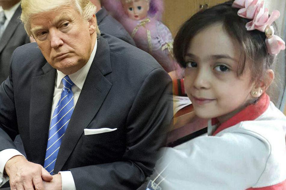 Siebenjährige aus Aleppo schreibt Brief an Donald Trump