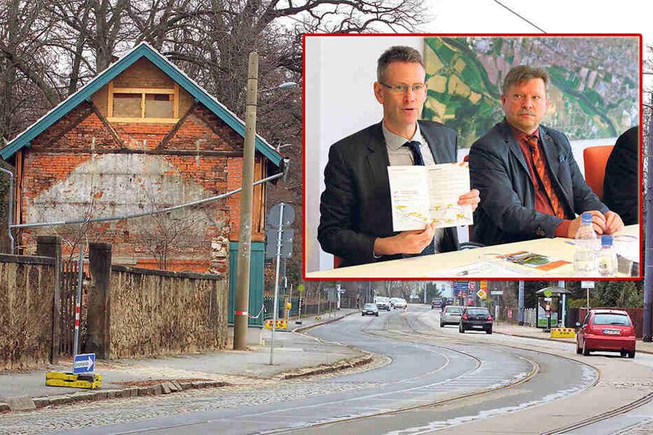 Dresden: Neue Gleise, neue Straße bis 2020: Radebeul wird Großbaustelle
