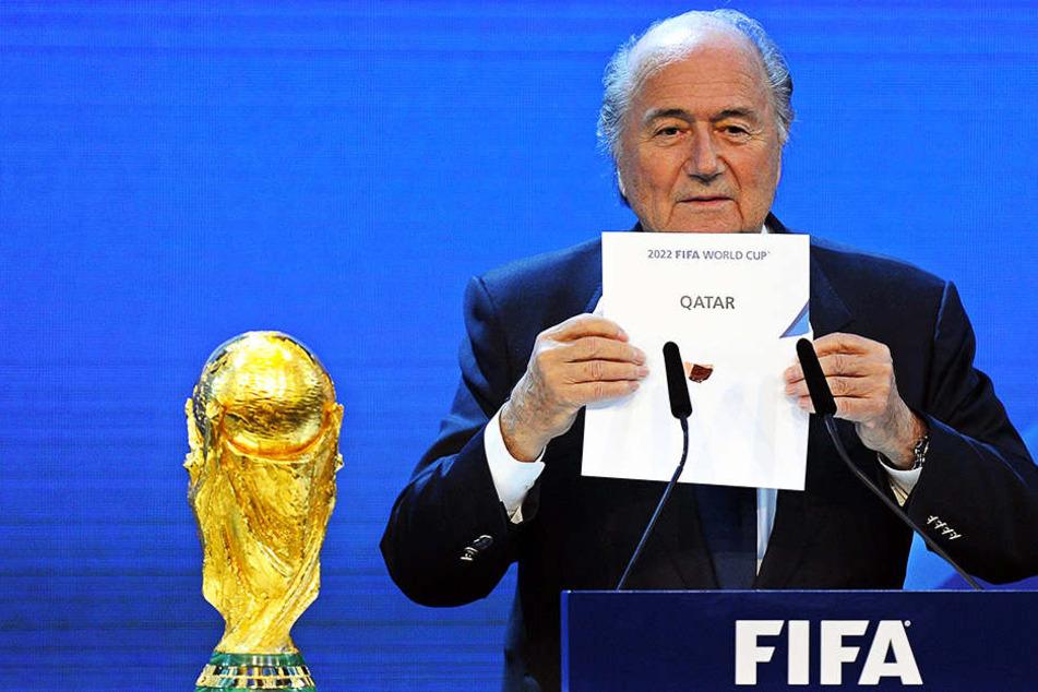 Sabotage? Schwere Vorwürfe gegen umstrittenen WM-Ausrichter Katar!