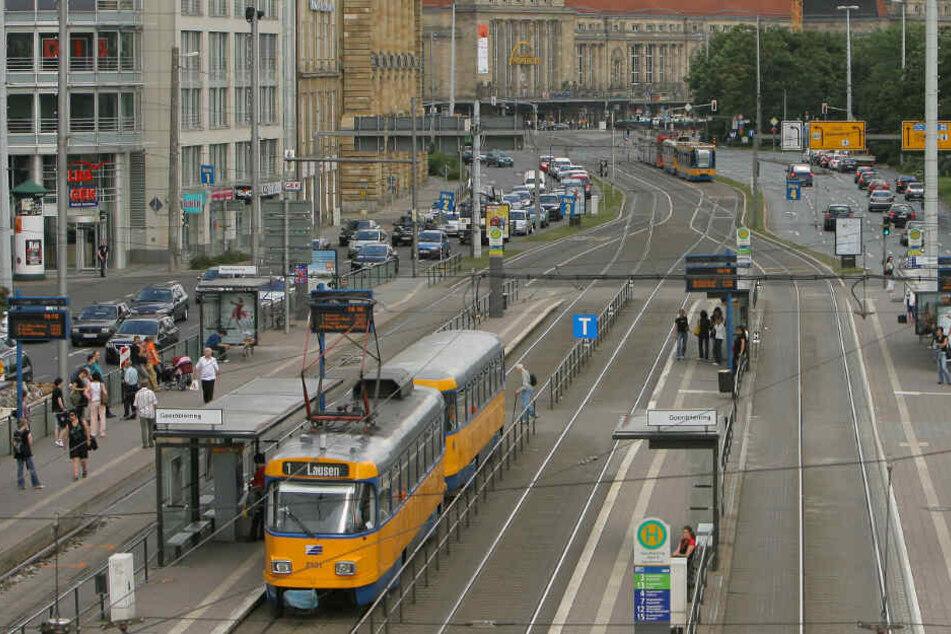 Der Tatort befand sich nur wenige Meter vom Hauptbahnhof entfernt. (Symbolbild)