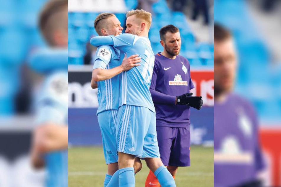 Die Himmelblauen dürfen in dieser Saison noch fünf Mal im eigenen Stadion ran. Und daheim haben sie eine erfolgreiche Serie gestartet - das macht Mut im Kampf um den Klassenerhalt.